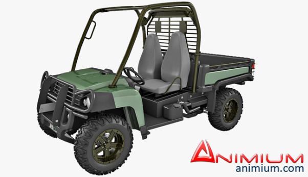 John Deere Gator 3d model