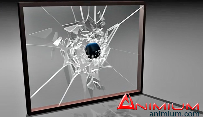 Shattering Glass with Rayfire in 3ds max