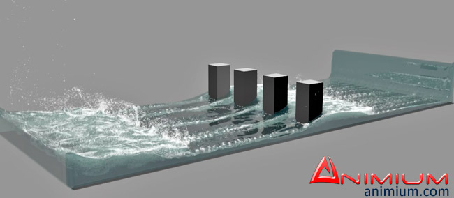 Fluid Simulation in 3ds max with Phoenix FD – Animium 3D Models