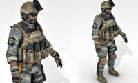 Soldier 3d model