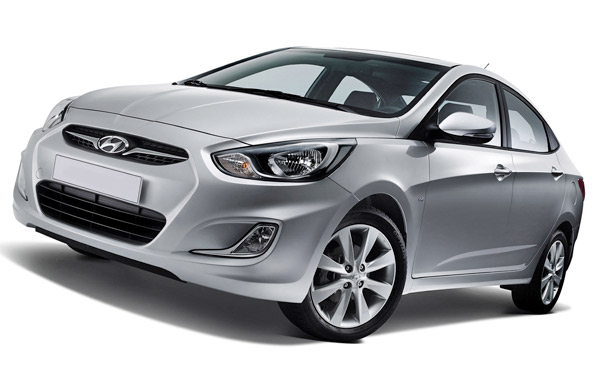 Hyundai Accent 3d model