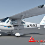 Cessna 162 Skycatcher 3d model