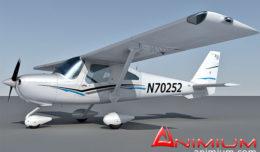 cessna 162 3d model