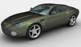 Aston Martin DB7 Zagato 3d model