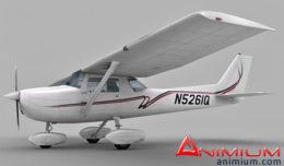 Cessna 150 3d model