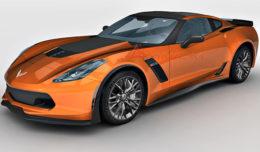 Corvette C7 Z06 3d model