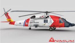 MH-60 Jayhawk 3d model
