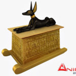 Anubis Shrine 3d model