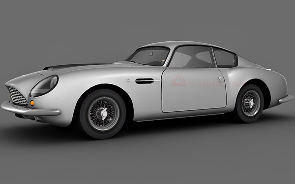 Aston Martin Zagato 1960 3d model