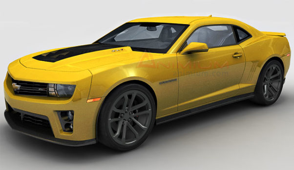 Chevrolet Camaro ZL1 3d model