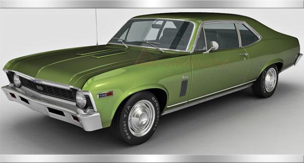 Chevrolet Nova SS 3d model