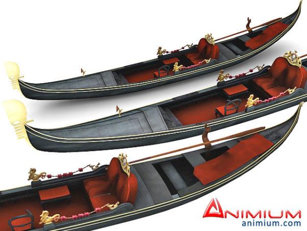 Gondola 3d model
