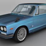 Nissan Skyline 2000 GT-R 3d model