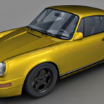 RUF CTR Yellow Bird 3d model