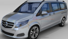 Benz V250 3d model