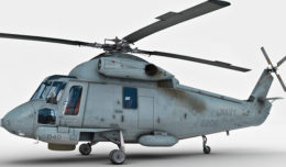 Kaman SH-2 Seasprite 3d model