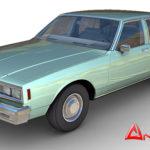 Chevrolet Impala 1984 3d model