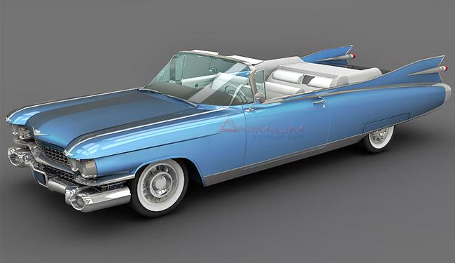 Cadillac Eldorado Biarritz 1959 3d model - Free 3d models