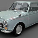 Lotus Cortina 3d model