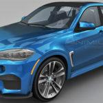 BMW X6 M 3d model