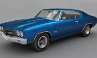 Chevrolet Chevelle SS 3d model