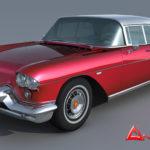 1957 Cadillac Eldorado Brougham 3d model