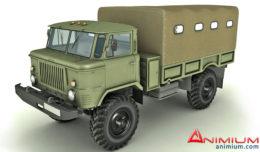 Gaz 66 3d model