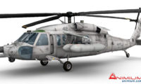 MH60 Blackhawk 3d model