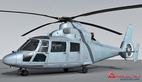 AS365 Dauphin 3d model