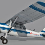 Cessna L-19 O-1 Bird Dog 3d model