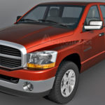Dodge Ram 1500 3d model