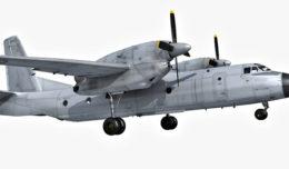 Antonov AN32 3d model