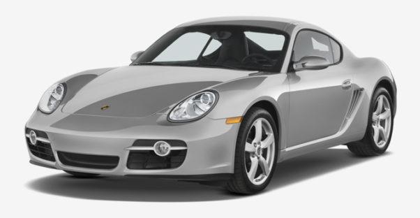 Porsche Cayman S 3d model