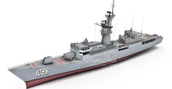USS Valdez 3d model